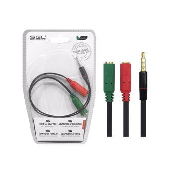 SGL AUDIO Splitter Cable Mic/Aux