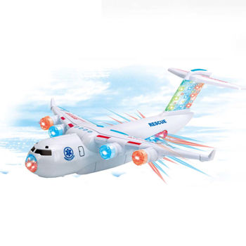 Transport Plane With Light and Music TOY