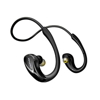 Awei A880BL Bluetooth  Wireless Smart Sports Headset Black