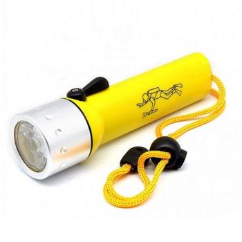 BAILONG BL-PF-02 Επαγγελματικός Καταδυτικός Φακός 6V, 3W Professional Flashlight for Diving