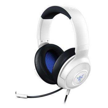 RAZER KRAKEN X WHITE – PC/PS4/PS5/XBOX WIRED AUDIO JACK GAMING HEADSET