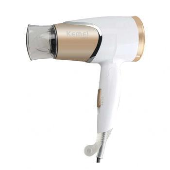 Kemei KM-6832 Mini Home Hair Dryer White