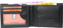 Wallet nappa leather wallet black
